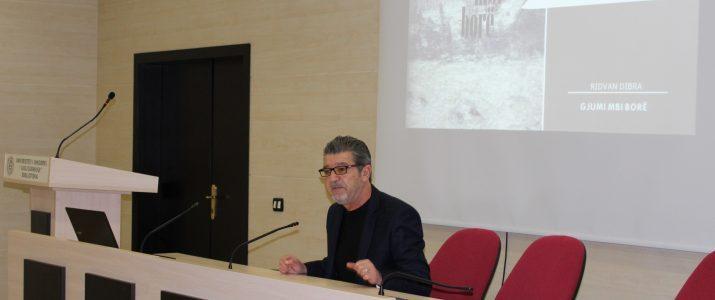 """Promovohet """"Gjumi mbi borë"""" i shkrimtarit Ridvan Dibra"""