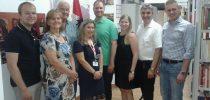 Përfaqësues te Partisë Popullore të Parlamentit Austriak vizitojnë bibliotekën